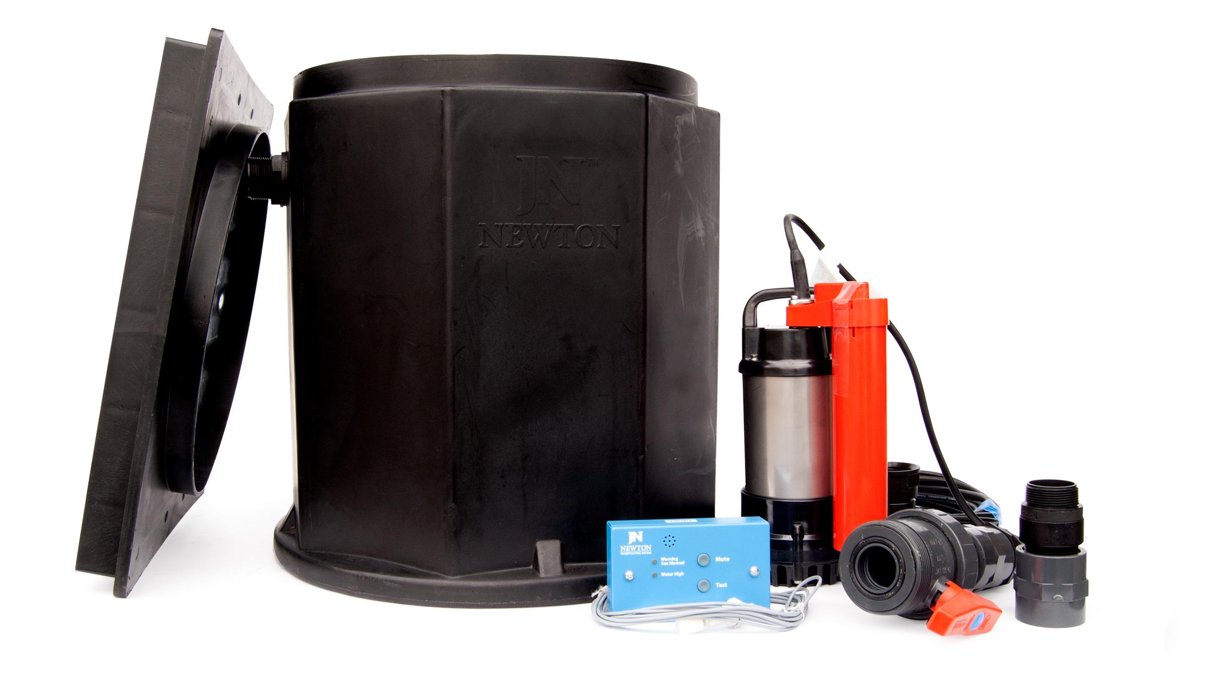 Basement Pump: Newton Titan NP150 Submersible Sump Pump with Alarm