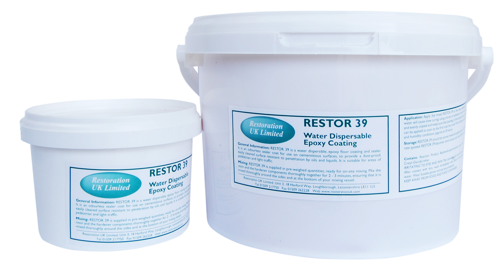 RUK Restor 39 Epoxy Resin Concrete Sealer & Floor Coating